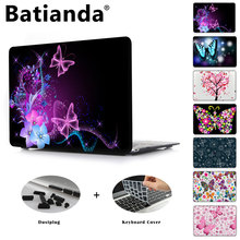 Butterfly Series Clear Case Cover For Apple macbook Pro Retina 12 13 15 Laptop Hard Shell For Air 11.6 13.3 inch New Touch Bar