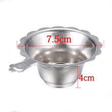 Double-layer Tea Strainer Filter Fine Mesh Tea Spoon Filter Stainless Steel(China)