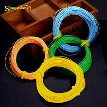 Sougayilang 100FT Weight Forward Fly Fishing Line 4F 5F 6F 7F 8F Nymph Floating Fly Line 4 Colors Polyethylene Fly Fishing Cord