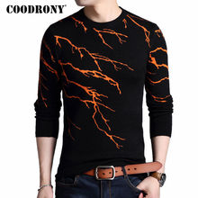 COODRONY Pullover Men 2017 New Winter Warm Mens Knitted Sweaters Cashmere Wool Men Sweater Fashion Flashing Lightning Pull Homme(China)