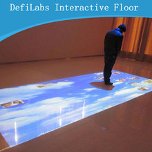DefiLabs GOOD NEWS of best price !! DEFI copyright Interactive floor Projection system and 130 different  effects