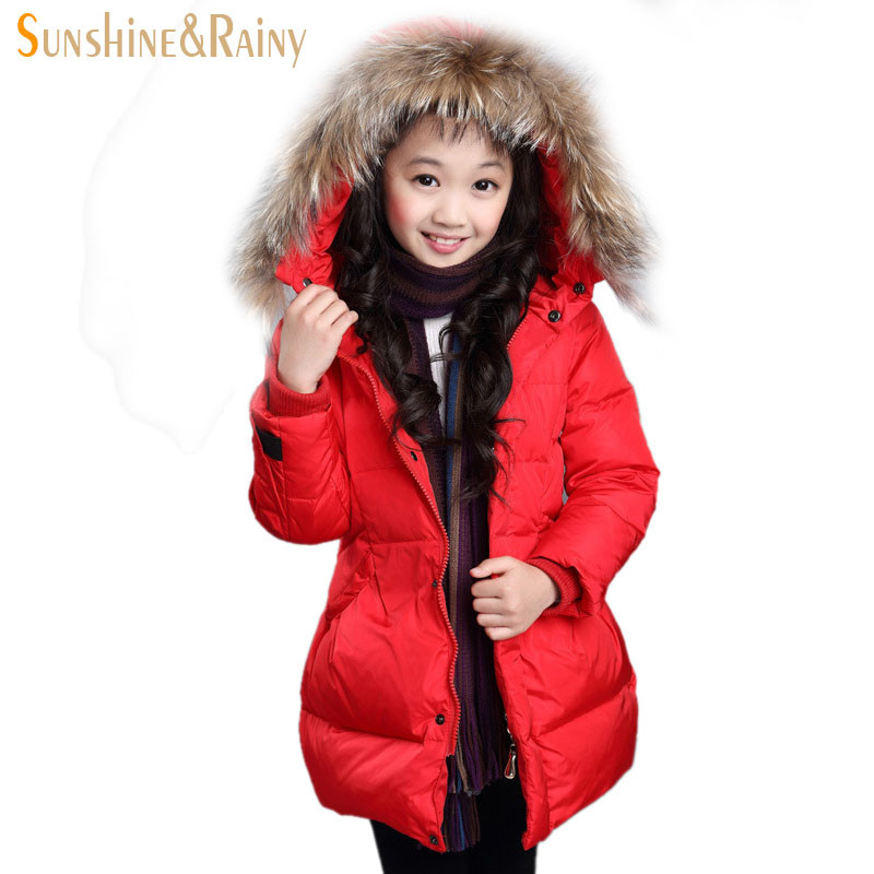 New Winter Teenage Girls Warm Coats Wool Hooded Long Kids Outerwear Clothes Thickening Winter Jackets For Girls Children CoatsОдежда и ак�е��уары<br><br><br>Aliexpress