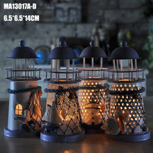 Iron lantern candle holder candlestick for wedding decoration home decor Spicka candelabros D09