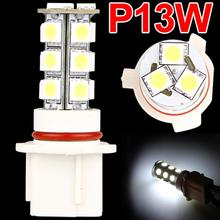 Qook 2pcs P13W 18 LED 3-chip 5050 SMD Fog DRL Light Bulb for 2010 2011 Chevy Camaro RS