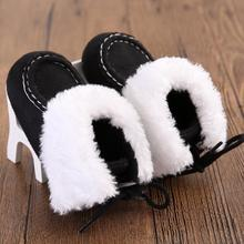 Winter Sole Snow Boots 5 colors Crib Shoes baby boy boots First Walkers warm and comfortable newborn girl shoes Krystal