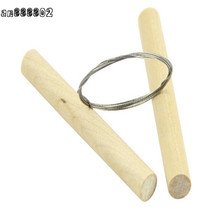 10Pcs Wood Knife Wire Clay Cutter For Fimo Sculpey Plasticine Cheese Pottery Tool Ceramic Dough