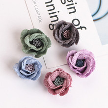 Homemade DIY jewelry hair rope ring pendant accessories Earrings HAIR FLOWER FLOWER FLOWER