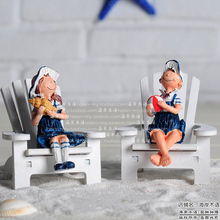 new year new year christmas decorations for home Home decoration navy lovers doll child housing accessories gift(China)