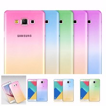 Fashion A5(2017) Coloful Soft Cover Case For Samsung Galaxy S3 S6 S7 Edge A5 A7 2017 J5 J7 J2 Prime 2016 Phone Protector Coque