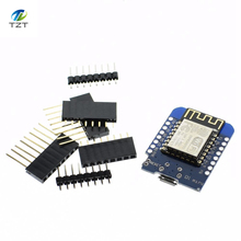 1PCS D1 mini - Mini NodeMcu 4M bytes Lua WIFI Internet of Things development board based ESP8266 by WeMos(China)