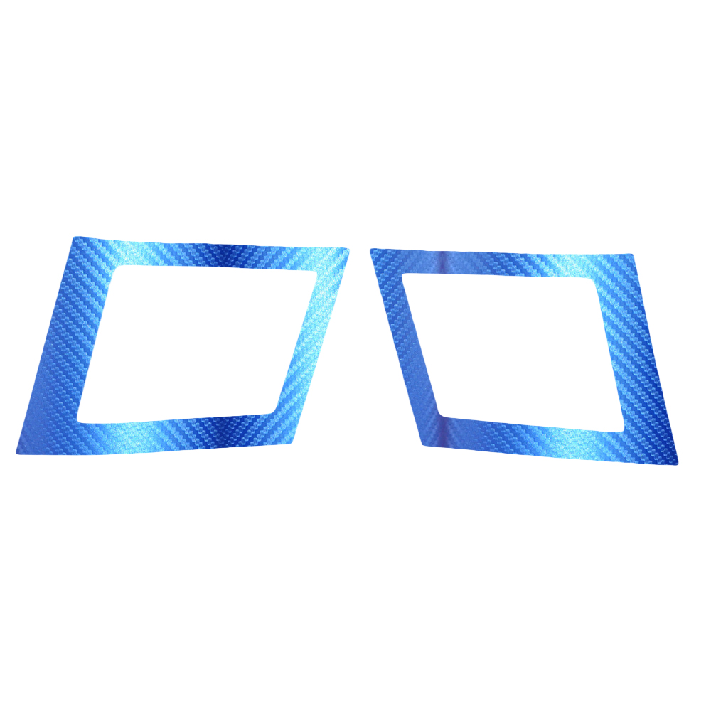 Car Air Conditioning Outlet Sticker For MITSUBISHI Lancer EX 2010 2011 2012 Carbon Fiber Car Stickers Car-Styling 2pcs Per Set 1