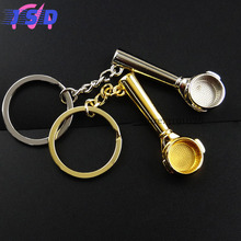 Car Styling Spoon Key Ring Keychain Holder Interior Accessories Gift for Abarth Audi BMW Buick Dodge Fiat ISUZU Jeep KIA LADA VW(China)