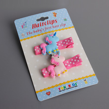 #GA009 16pair/lot Cartoon Barrettes Wholesale Cute Bunny/Rabbit/Pony Hair Clips Hair Pins Hair Accessories Hairpins