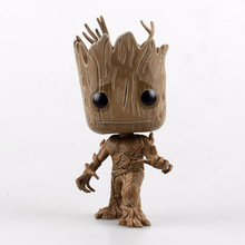 With No Original Box 12cm 1PCS Groot Tree Man Mask Star Lord Funko Pop Guardians of the Galaxy Action Figure Collection Toys