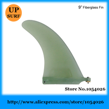 "Single Fins 9""Length Center Fins 9inch Fiberglass Fins Surfing Fin"