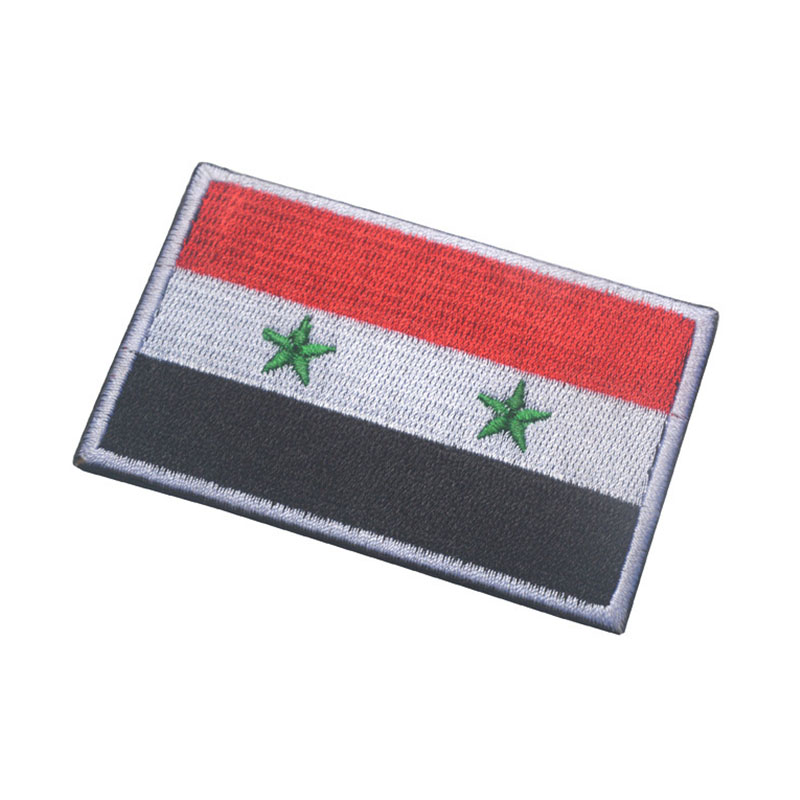 Collectible SYRIA Flag Sewing Patch
