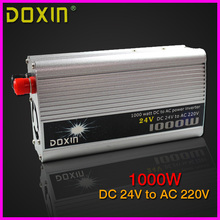1000W DC24V to AC220V Car Power Inverter Universal ST-N012(China)