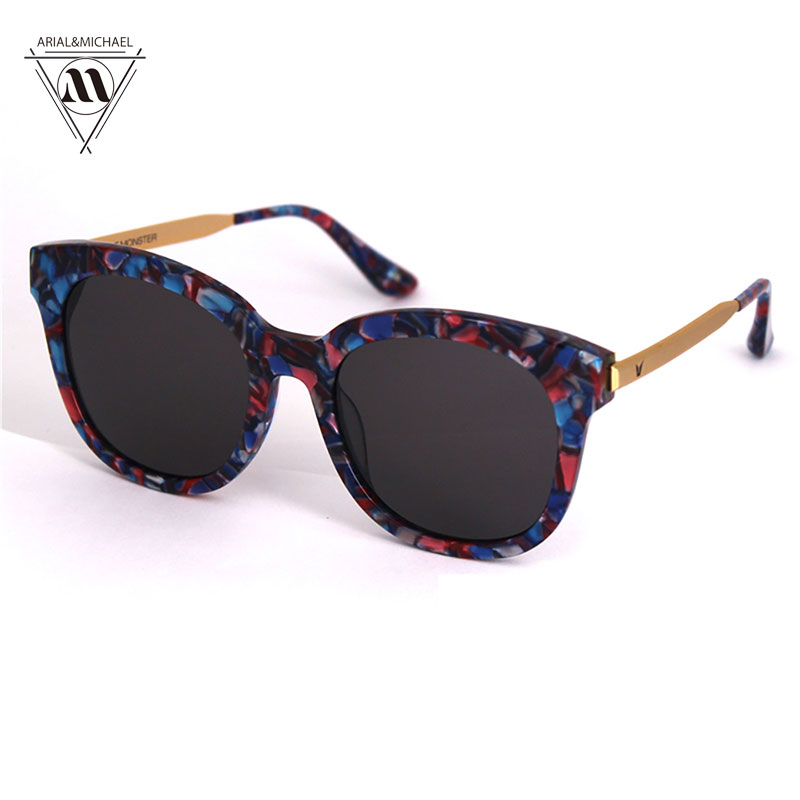 Arial&amp;Michael Brand Designer Fashion Multiple Color Reflective Sunglasses Women Vintage Polarized Mirror Glasses oculos feminino<br><br>Aliexpress