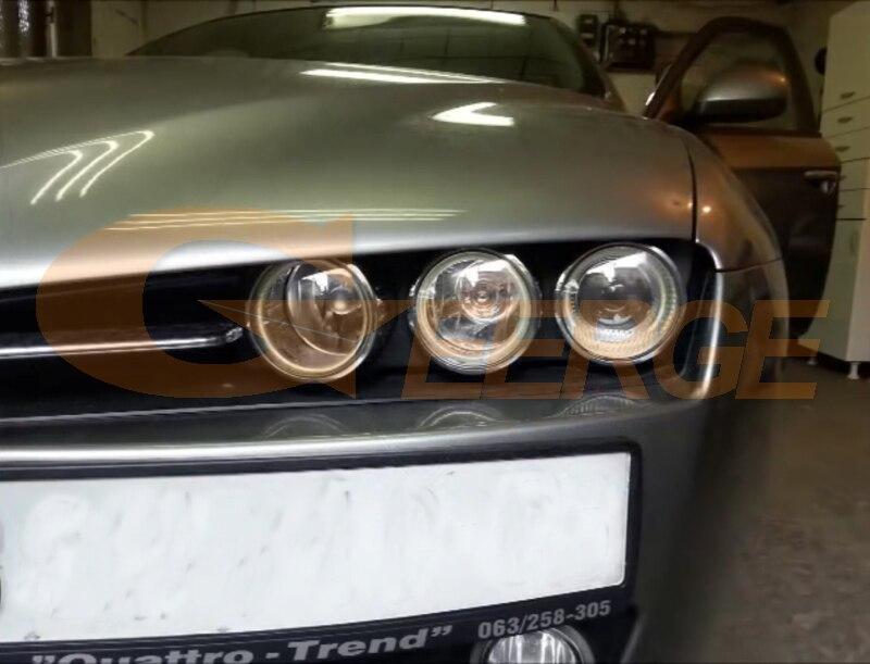 Alfa Romeo 159 cob led angel eyes kit(6)