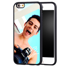 Dylan O'Brien signed popular star Printed Soft Rubber Skin Phone Cases For iPhone 6 6S Plus SE 5 5S 5C 4 4S Back Shell Cover