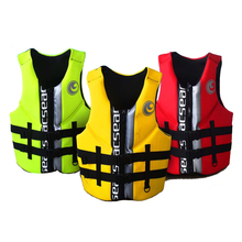Adults Swimwear Proffessional Life Vest Neoprene Floating Fishing Rafting Surfing Life Jacket Men Women Floating Jacket Outdoor