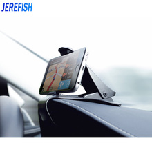 JEREFISH Car Phone Holder Mobile Phone Stand Cradle for iPhone Samsung Car Dashboard Holder Hippo Mouth Car Holder Support GPS