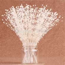 100stems/lot White Pearl Spray Wedding Bouquet Centerpiece Party Decoration Crafting DIY Accessories