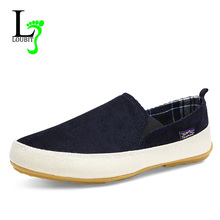Men Shoes 2017 Summer Loafers New Breathable Canvas Shoes High Quality Casual Footwear Fashion Light Male Walk Shoes(China)