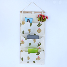 3 Pockets Large Wall Hanging Storage Bag Back Door Sock Shoe Organizer Phone Keys Magazine Holder Bag Household Space Saver