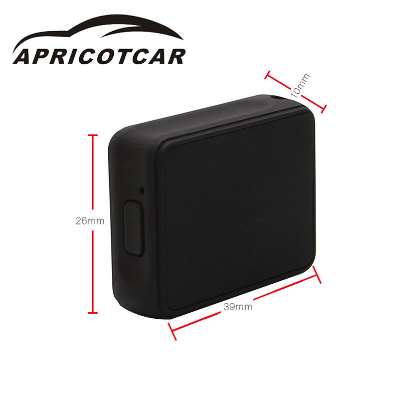 Mini Portable Mini GPS Trackers Car Older Child Pet Child Tracking Positioning Anti-Lost Anti-theft Machine GPS Exquisite Small<br>