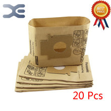 20Pcs High Quality Compatible With Panasonic Vacuum Cleaner Accessories Dust Bag Paper Bag C-20E / MC-CG381 / CG383 / CG461(China)