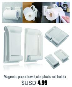 Magnetic paper towel oleopholic roll holder