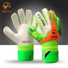 2017 Professional Kids Football Gloves Boys Thicken Latex Football Goalkeeper Gloves Soccer Goal Keeper Goalie Training Gloves