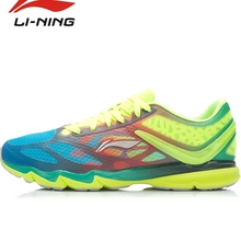 Li-Ning Men's Breathable Lace Up Running Shoes Li Ning ultralight 12  Outdoor Ultra-light Wear-resisting Sports Sneakers ARBK019