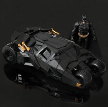 Genuine Batman chariot model the Dark Knight rises with the action figure toy car Batman Tumbler Batmobile Toy Christmas 263