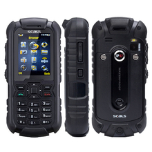 2017 Original IP67 waterproof rugged feature phone SEALS VR7 2 inch TFT screen 2MP camera support GPS JAVA Russian keyboard