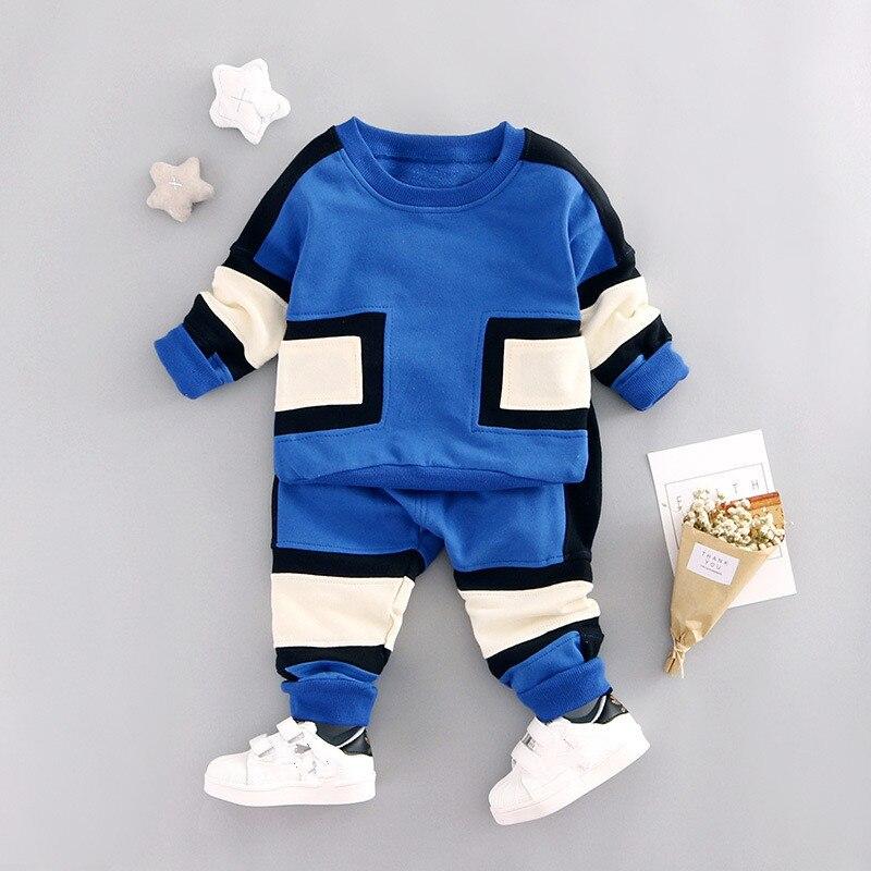 Kids Clothes Boys Clothing set 2pcs Cotton Shirt + Plaid Pants Toddler Boys Clothing Children Suits Baby Boy Clothes Set 2017<br><br>Aliexpress