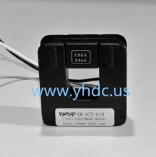 YHDC SCT019 Input 0-200A Output 0.33V Split Core Current Transformer AC Current Sensor Suspension type 20-1KHz Work Voltage 660V