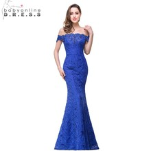 Robe Demoiselle D'honneur Cheap Purple Lavender Beaded Mermaid Lace Bridesmaid Dress Long 2017  Vestido de Festa Casamento