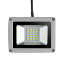 10W 20W 30W LED Outdoor Floodlight Lamp 220V Square Garden Flood Lights IP 65 Waterproof LED Light With EU Plug