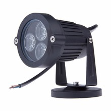 90% OFF 9W LED Lawn lamps Outdoor lighting IP65 Waterproof LED Garden Wall Yard Path Pond Flood Spot Light AC 110V 220V(China)