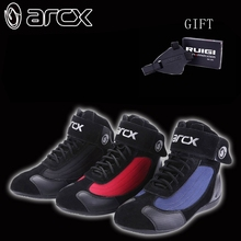 free shipping new model ARCX the men motorcycle boots professional motorcross racing shoes Spring summer autumn and winter