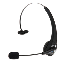 BTH-068 Wireless Bluetooth Gaming Headset Flexible Headband & Boom Mic Music Headphone for Phones,Call Center,Skype,Truck Driver