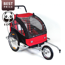 2017 Babypanda store baby tricycle trailer connect strollers trailer for babies hot children bicycles bike trailer with car seat