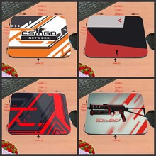 CSGO And Spear Art LOGO Games Antiskid Rectangular Computer Mouse Pad, Custom Size, Decorate Your Desk Design As A Gift