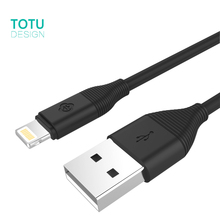 TOTU USB Cable For iPhone 7 5s 6 6s SE 7 Plus iPad Mini 2 3 4 5 Air Fast Charging Phone Cable For IOS 8 9 10 2.1A Charger Cabo