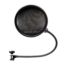 High quality Double side recording broadcast microphone POP Filter BOP cover for studio recording