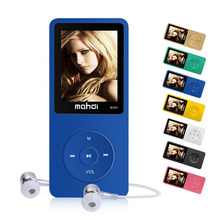 High quality battery mp4 player 8gb Speaker Music player support 32GB TF card 100 hours video player FM Radio mp4 Music player(China)