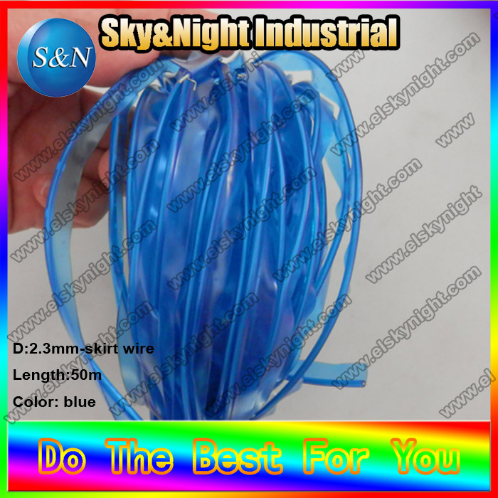 skirt wire-50m-blue-3