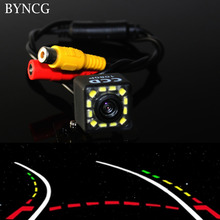 Parking Assistances Car Rearview Reverse Revering Rear View Camera 12 LED CCD Backup 170 degree de re para auto night vision(China)